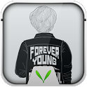 Black and White Live Locker icon