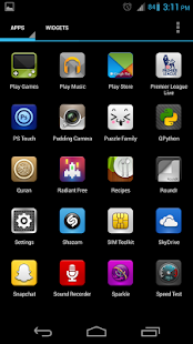 Luxx Icon Pack for Launcher - screenshot thumbnail