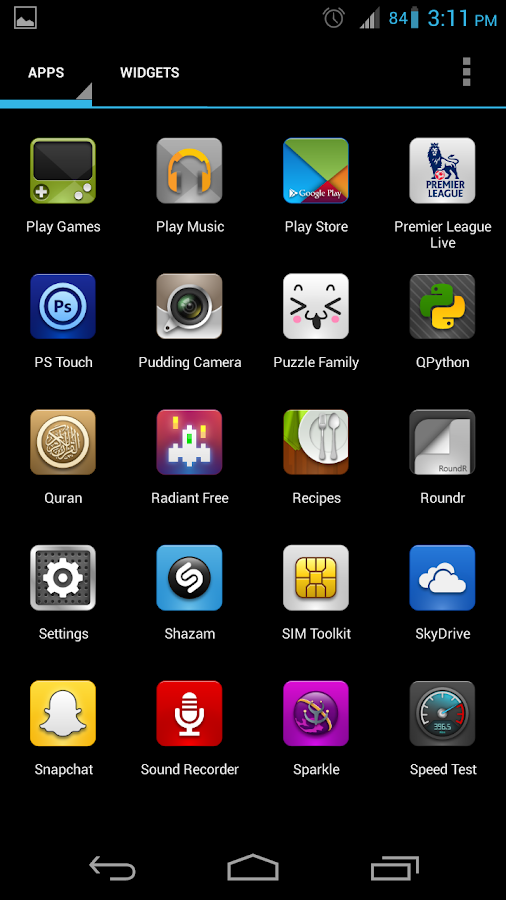 Luxx Icon Pack for Launcher - screenshot