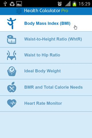 Health Calculator Pro - screenshot