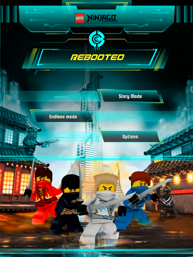 LEGO® Ninjago REBOOTED- screenshot
