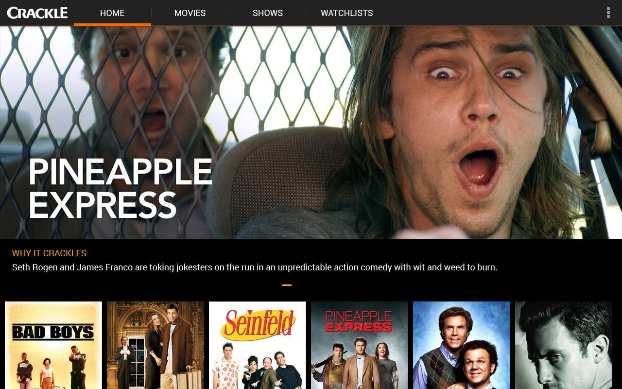 Crackle - Free Movies & TV- screenshot