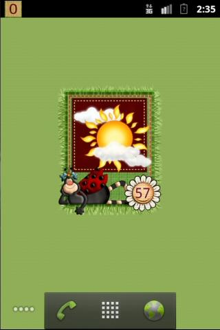 Cute Ladybugs Widgets- screenshot
