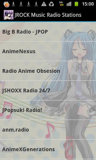 JROCK Music Radio Stations