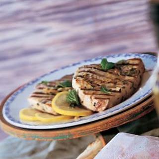 Swordfish on the Grill with Lemon and Mint (Pesce Spada alla Griglia)