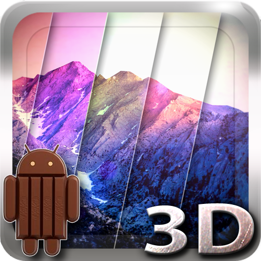 3D Kitkat 4.4 Mountain lwp