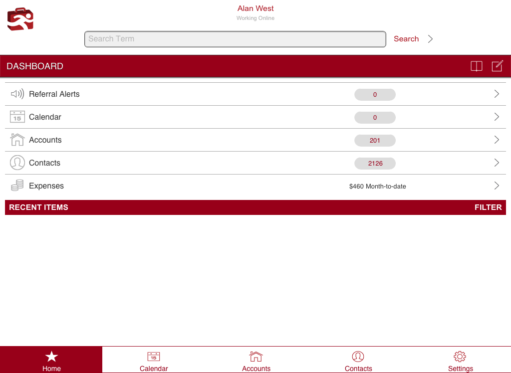PlayMaker CRM Mobile CLASSIC - screenshot