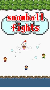 online snowball fights- screenshot thumbnail