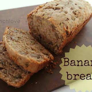 Best Banana Bread (refined Sugar Free + Vegan Friendly).