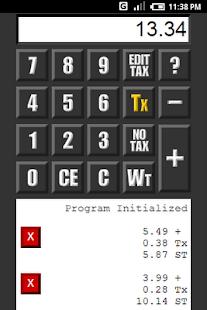 Grocery Calculator