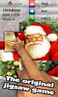 Screenshot of Christmas Puzzle Game: Jigsaw