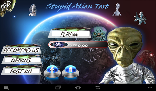 The Stupid Test: Puzzled Alien