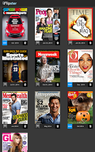 Flipster - Digital Magazines- screenshot thumbnail