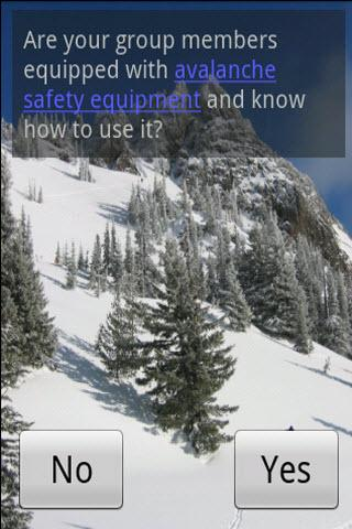 Avalanche Safety - screenshot