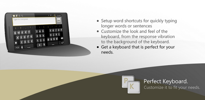 Perfect keyboard Pro - ver. 1.5.0