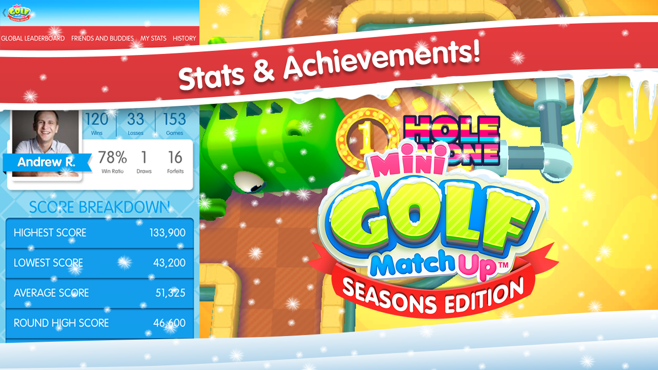 Mini Golf MatchUp™ Seasons - screenshot