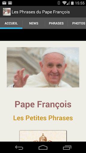 Les Phrases du Pape François