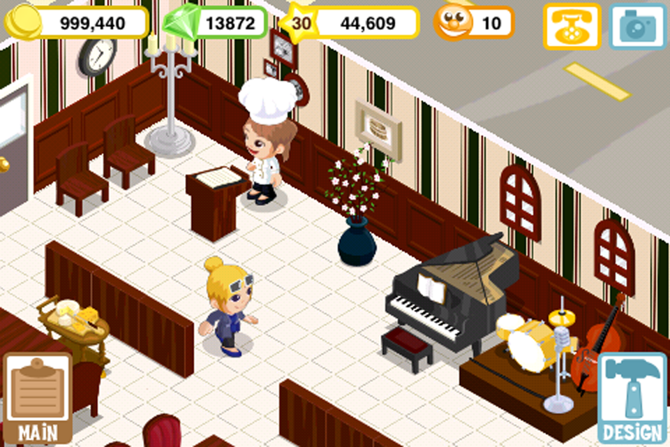 Restaurant story summer fun android apps on google play