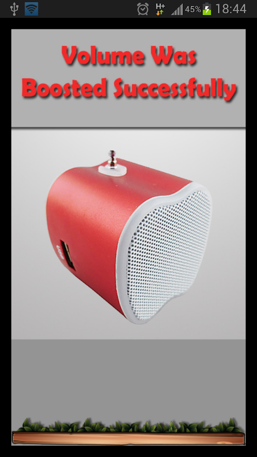 Sound Volume Booster - screenshot