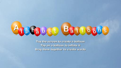 Alphabet Balloons Free