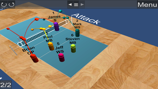 Volleyball Coach Strategy Tool