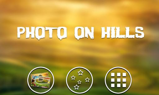 Photo on hills