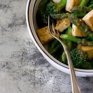 Miso Vegetables & Tofu.