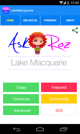 Ask Roz Lake Macquarie