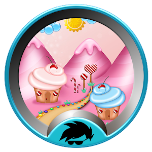 Sweet Candy Land Launcher for Android