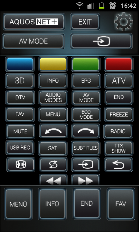 remote app for sharp tv