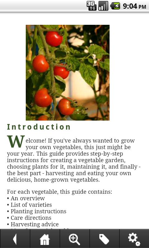 Vegetable Gardening Guide- screenshot