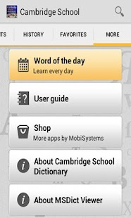 Cambridge School Dictionary TR|玩書籍App免費|玩APPs