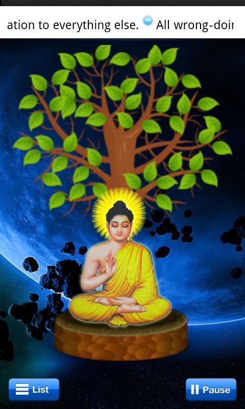 Lord Buddha Quotes Screenshot