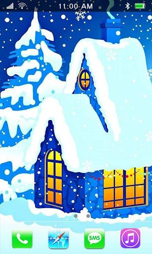 Santa HD live wallpaper