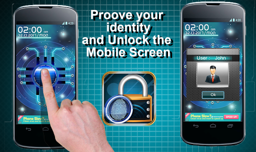 Fingerprint Mobile Screenlock