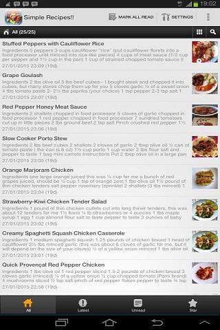 Simple Recipes