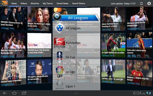 inFootball for Tablet Soccer
