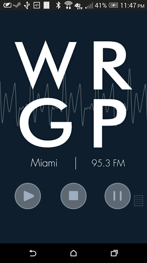 WRGP - FIU Student Radio- screenshot