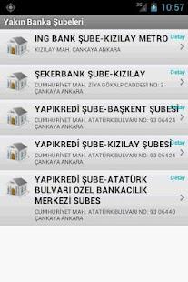 Yakın Bankalar - screenshot thumbnail