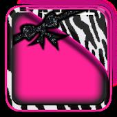 THEME - Zebra Hot Pink HD