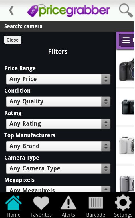PriceGrabber- screenshot