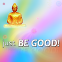 Just Be Good Buddhist icon