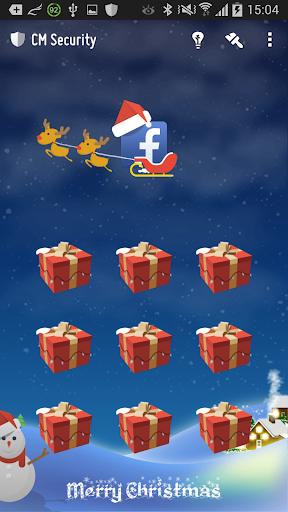 应用锁 - 圣诞节主题 (猎豹安全大师 应用锁主题 )
