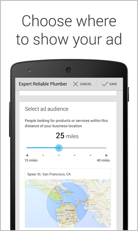 AdWords Express - screenshot