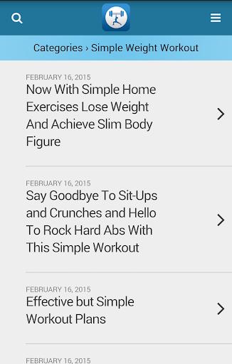 【免費健康App】簡單的鍛煉提示-APP點子