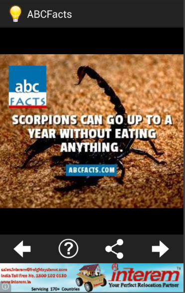 ABC Facts - screenshot