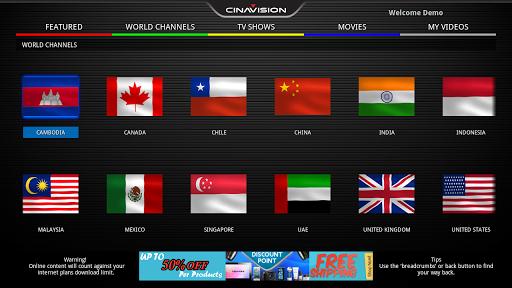 Cinavision TV
