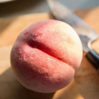 Easy Caramel Peach Pie