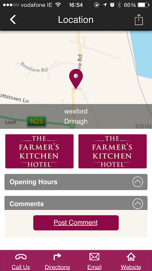 The Farmers Kitchen Hotel App Android Apps On Google Play