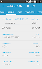 Flud - Torrent Downloader Screenshot 3